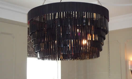 Dining Room chandelier installed by local electrician