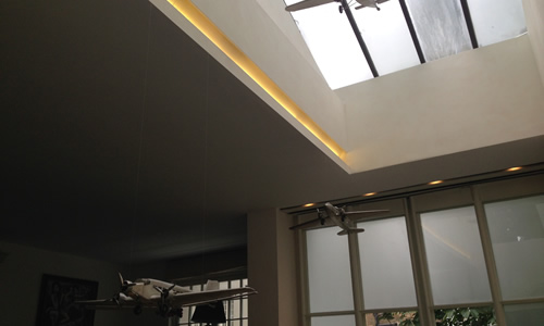 New low energy ceiling lights by our Wimbledon electrician