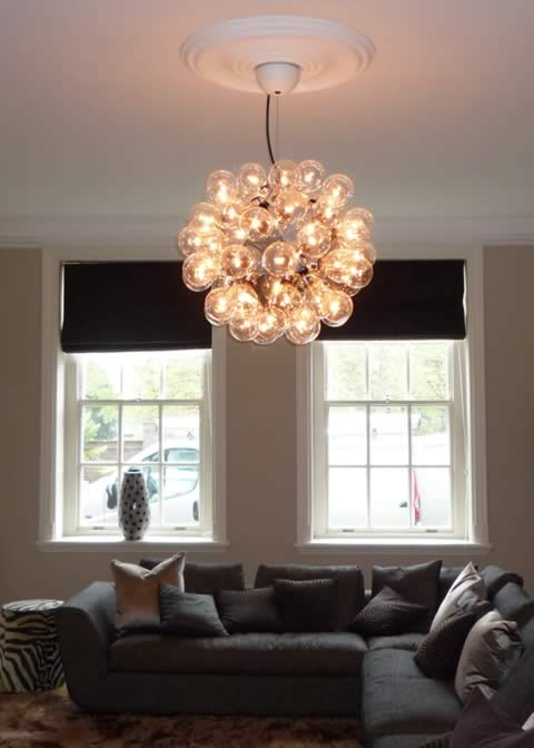 New Ceiling light installed in Canbury Park Road, KT1  Kingston Upon Thames